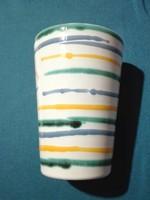 Gmundner kerámia csésze, 3 dl-es