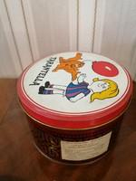 Tarantella fém süteményes doboz