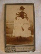 Antik fotó fénykép Visit Portrait
