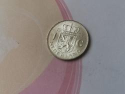 1967 ezüst holland 1 gulden 6,5 gramm 0,720