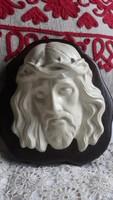 Régi Jézus arckép falidísz