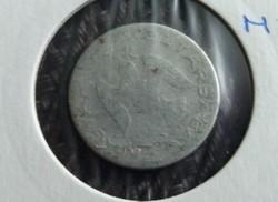 Viseltes ritka 10 Fillér 1950./2.