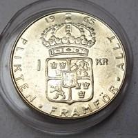 1 Krona - Gustaf VI Adolf 1965