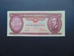 100 forint 1960 Nagyon szép ropogós bankjegy !