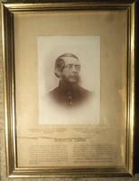 Kossuth Lajos adomány emléklap New York.1927