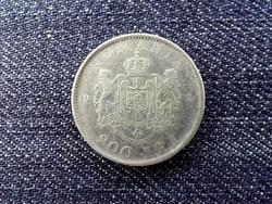 Románia I. Mihály .835 ezüst 200 Lej 1942 / id 13924/