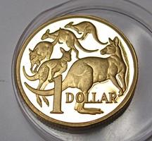 Ausztrál 1 dolláros 1989.proof