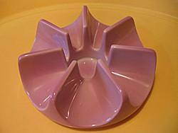 Rózsaszín Arzberg porcelán teamelegítő, mécsestartó