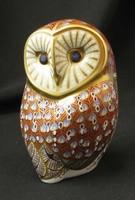 Angol royal crown derby porcelán bagoly