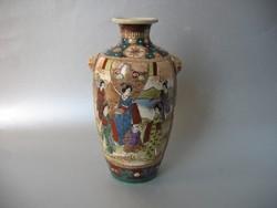 Antik satsuma váza (19 cm)