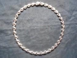 925-ös ezüst nyakék,nyaklánc. Milor, Italy ékszerház. Karácsonyra, hölgyeknek. Hibátlan