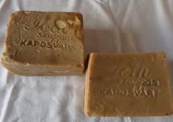 2 db régi szappan