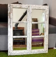 Rusztikus tükör régi ablakból (13.800) és spalettából (12.300)