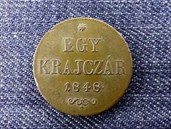 Szabadságharc 1 Krajcár 1848 / id 14311/