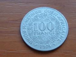 NYUGAT AFRIKA 10 FRANK FRANCS 1974 (a) #