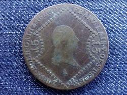 I. Ferenc 15 Krajcár 1807 A / id 4377/