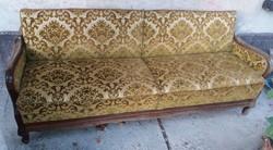 Neobarokk ágyazható kanapé