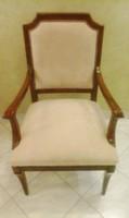 6 db Art Deco szék ( 2 db karosszék, 4 db szék). Restaurált, új kárpitozással.