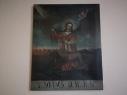 Barokk szent kép mitológiai jelenet gyűjteményből