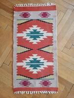 Kisméretű torontáli kelim szőnyeg