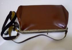 RETRO buszos kalauz felszerelés: lyukasztó-táska és dokumentáció