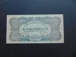 VH. 20 pengő 1944 CE Szép ropogós bankjegy  02