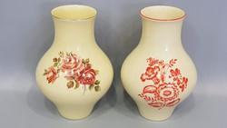 Zsolnay virágmintás vázák