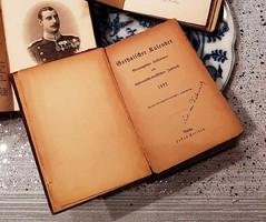 GOTHAISCHER-kalender (1922) USA budapesti Nagykövetsége
