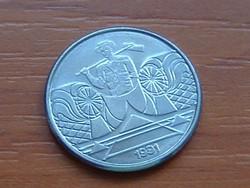 BRAZÍLIA BRASIL 5 CRUZEIROS 1991 #