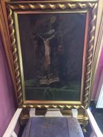 Antik Festmény Gyönyörű Antik Keretben Eladó & Csere Is Leárazva