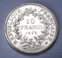 10 frank 1968