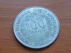 NYUGAT AFRIKA 10 FRANK FRANCS 1980 (a) #