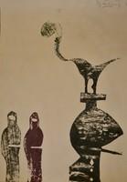 Bálint Endre (1914-1986): Figurális kompozíció 2.