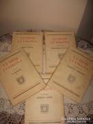 ÚJ IDŐK LEXIKONA 1-5. , 1936