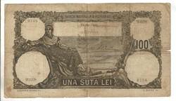 100 lei 1930 Románia Ritka