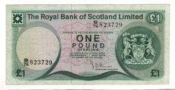 1 font pound 1979 Skócia