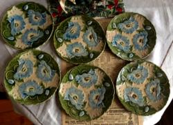 Schütz Cili  süteményes tányérok