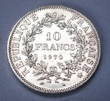 10 frank 1970