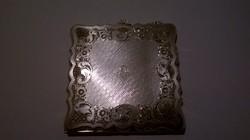 Antik női tükrös puderes 900-as ezüst