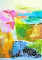 KIÁLLÍTÁSON SZEREPELT MŰ! Egyedi AJÁNLAT! Modern szignózott eredeti alkotás, Közvetlen a művésztől!
