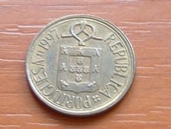PORTUGÁL 5 ESCUDOS 1997 CSIPKE #