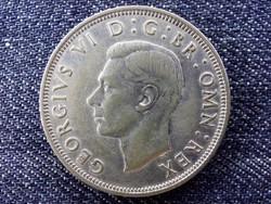 Anglia VI. György (1936-1952) .500 ezüst 1/2 Korona 1938 / id 14399/