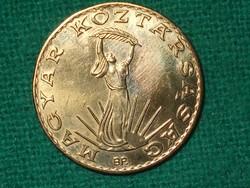10 Forint 1990 ! Nem Volt Forgalomban ! Verdefényes !