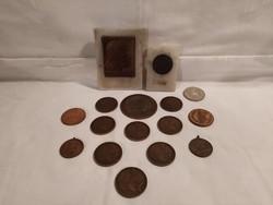 Bronz plakettek és érmék egyben!
