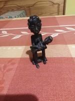 Ismeretlen bronz szobrocska 01