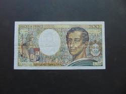 Franciaország 200 frank 1992  02 Szép ropogós bankjegy