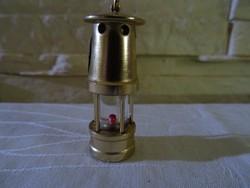 Miniatűr rézlámpa