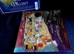 Ulbrich80 vásárló részére - Üvegtál - Gustav Klimt: A csók