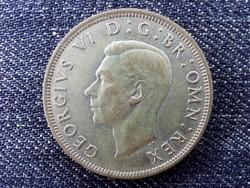 Anglia VI. György (1936-1952) .500 ezüst 1/2 Korona 1943 // id 14404/