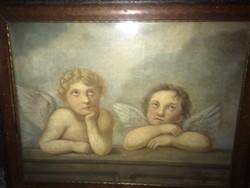 ANGYALKÁS festmény